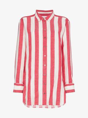Marques Almeida Marques'almeida Linen Stripe Shirt