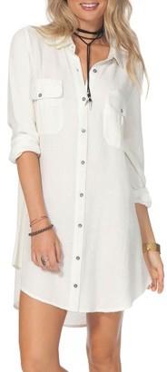 Women's Rip Curl Ava Shirtdress $56 thestylecure.com
