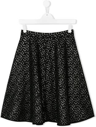 Señorita Lemoniez TEEN dot print skirt