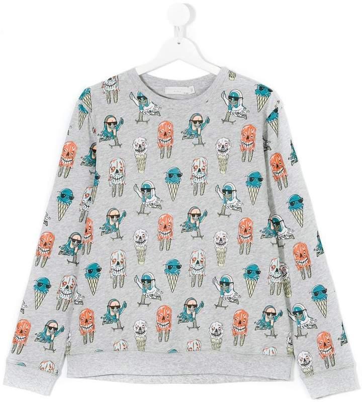 Biz Ice Cream print jumper
