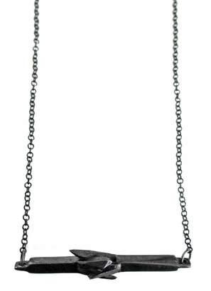 Malia Jewelry Black Mineral Necklace