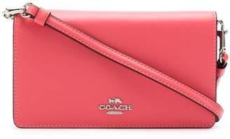 Coach logo crossbody bag