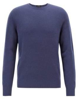 BOSS Hugo Cashmere sweater seam-free design M Open Blue