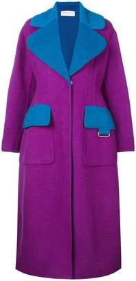 Emilio Pucci wide lapeled long coat