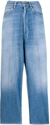Golden Goose wide leg denim jeans