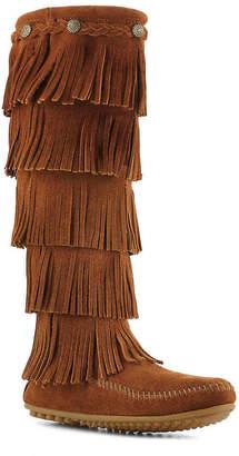 Minnetonka 5 Layer Fringe Western Boot - Women's