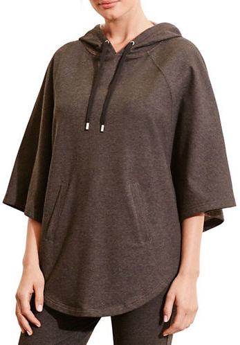 Lauren Ralph Lauren Hooded French Terry Poncho