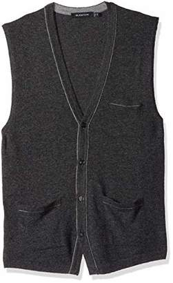 Bugatchi Men's Lightweight V-Neck Sweater Vest