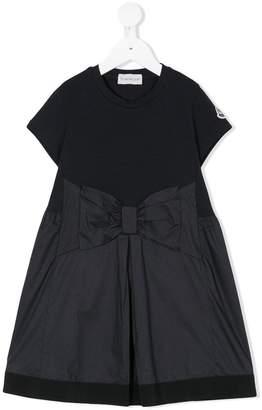 Moncler bow-embellished dress