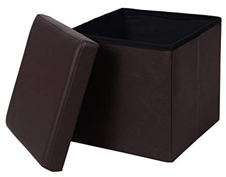 Leather Storage CubeShopStyle Australia