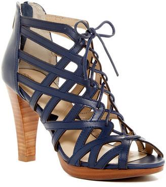 Adrienne Vittadini Anjolie Heeled Sandal $149 thestylecure.com