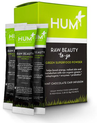 Hum Nutrition Raw Beauty To GoTM Superfood Powder - Mint Chocolate Chip $25 thestylecure.com