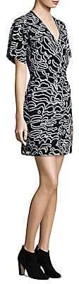 Diane von Furstenberg Women's Flare Mini Dress