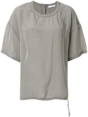 Christian Wijnants gingham check blouse