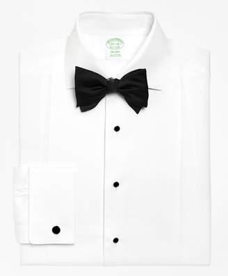Brooks Brothers Milano Fit Bib-Front Spread Collar Tuxedo Shirt