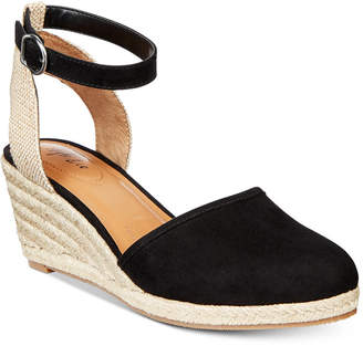 Style&Co. Style & Co Mailena Wedge Espadrille Sandals, Created for Macy's