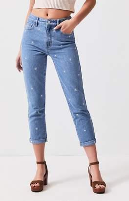 PacSun Raining Daisy Mom Jeans