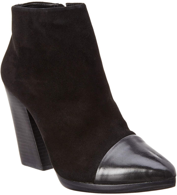 Tory Burch Rivington Suede & Leather Bootie
