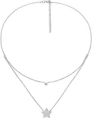 Folli Follie Fashionably starry sky sterling silver necklace