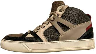 Lanvin Leather High Trainers