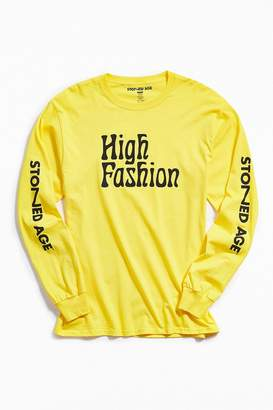 Stoned Age High Fashion Long Sleeve Tee