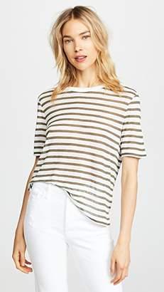 alexanderwang.t Striped Slub Jersey Tee