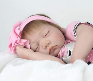 Top Doll baby doll -es Silicon Lifelike Realistic Reborn Cute Vinyl Doll for Kids Toys, Collect Toys for Ages 3+