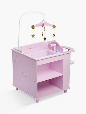 Olivia's Little World Baby Doll Changing Station, Purple