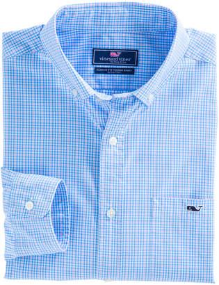 Vineyard Vines Stowaway Plaid Classic Tucker Shirt