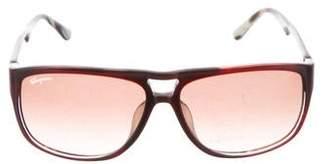 Salvatore Ferragamo Tinted Tortoiseshell Sunglasses