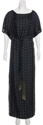 Thomas Wylde Silk Maxi Dress w/ Tags