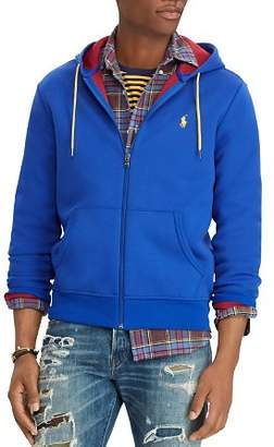 Polo Ralph Lauren Double Knit Full-Zip Hooded Sweatshirt