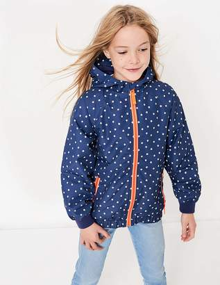 Boden Patterned Jersey-lined Anorak