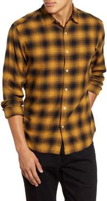 Life After Denim Regular Fit Plaid Button-Up Flannel Shirt