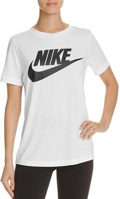 Nike Swoosh Essential Tee $40 thestylecure.com