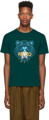 Kenzo Green Classic Tiger T-Shirt