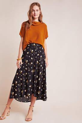 Velvet by Graham & Spencer Willa Floral Midi Skirt