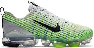 Nike VaporMax Flyknit 3 Light Silver Volt Glow (GS)