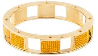 Lele Sadoughi Pavé Mini Cube Slider Bracelet