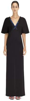 Lanvin Long Embroidered Dress