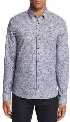 HUGO Ero Confetti Extra Slim Fit Button-Down Shirt