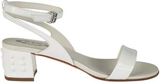 Tod's Strappy Block Heel Sandals