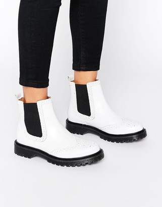 Bronx Chunky Flat Boots $105 thestylecure.com