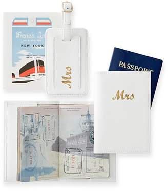 Passport and Luggage Tag Set, Mrs.