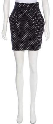 Elizabeth and James Polka Dot Mini Skirt
