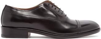 Maison Margiela Toe-cap stitch derby shoes