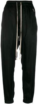 Rick Owens drawstring slim trousers