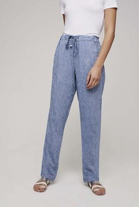5247dcac76cf1 Women's Tall Linen Pants - ShopStyle Australia