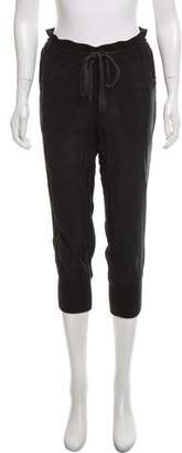 Elizabeth and James Cropped Mid-Rise Pants