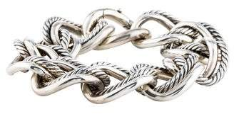 David Yurman Large Curb Chain Link Bracelet